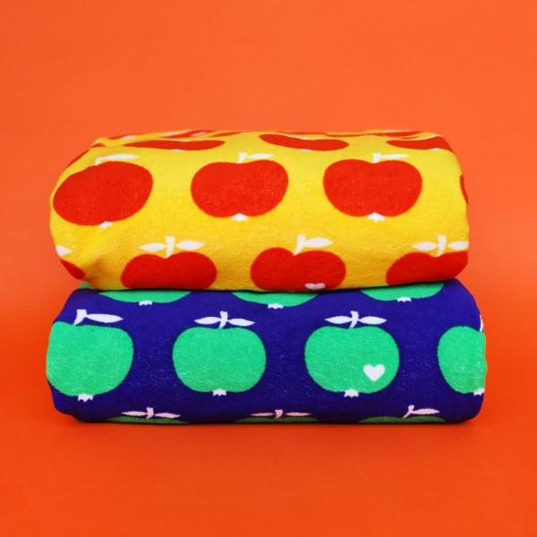 Stoffpaket Frottee Apfel