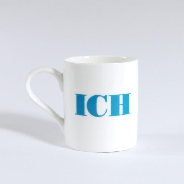 Porzellanbecher ICH / Apfel