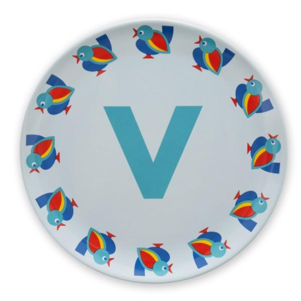 ABC Melaminteller - V