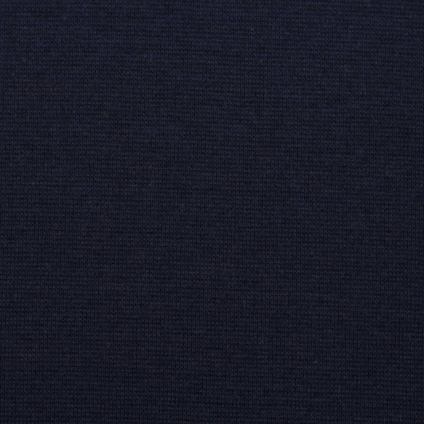 Bündchen uni / Schwarz-Blau