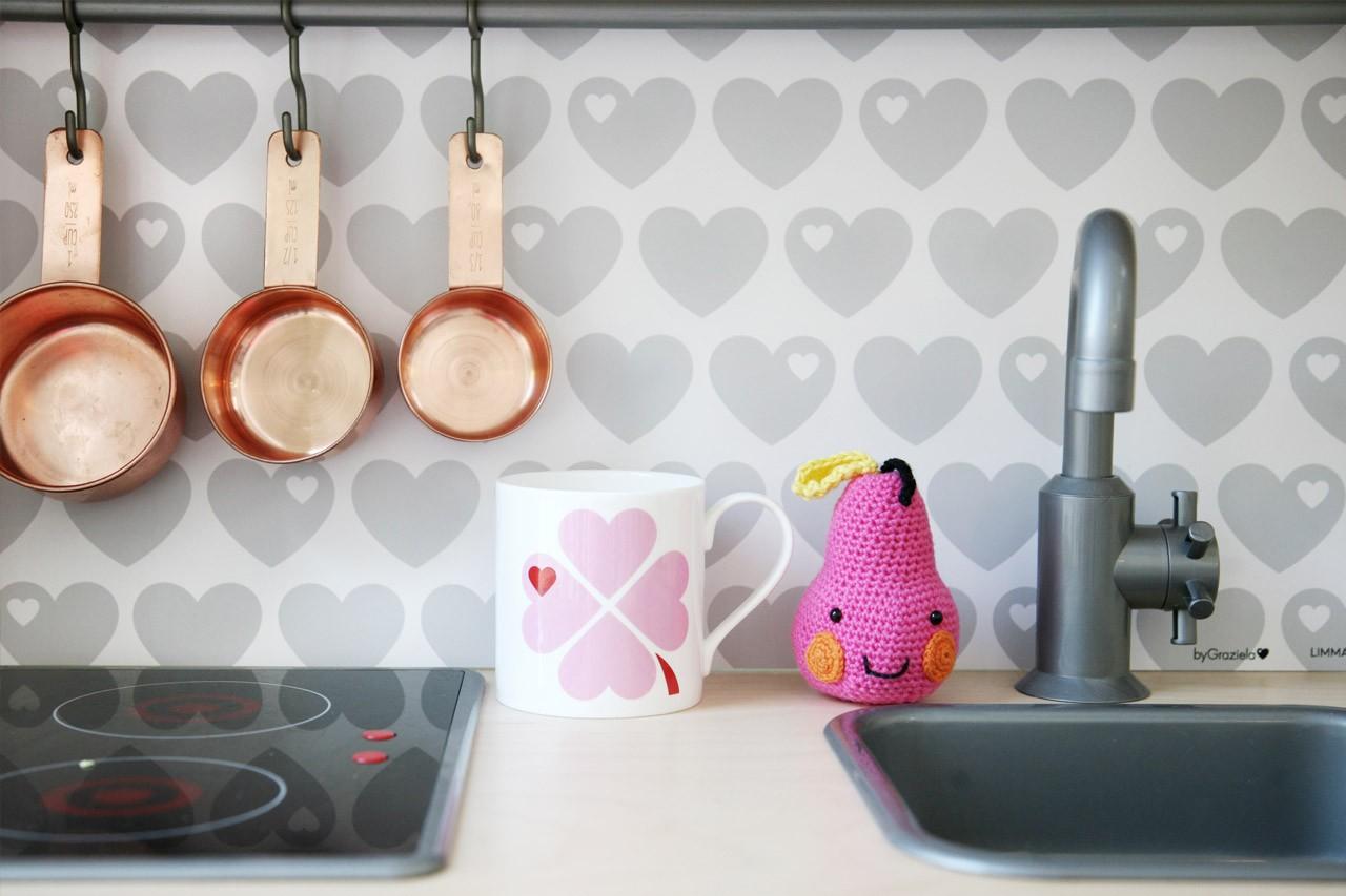Kinderküche verschönern mit Limmaland und byGraziela