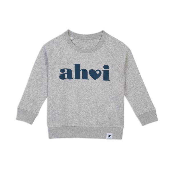 Kinder Sweatshirt Ahoi - Grau