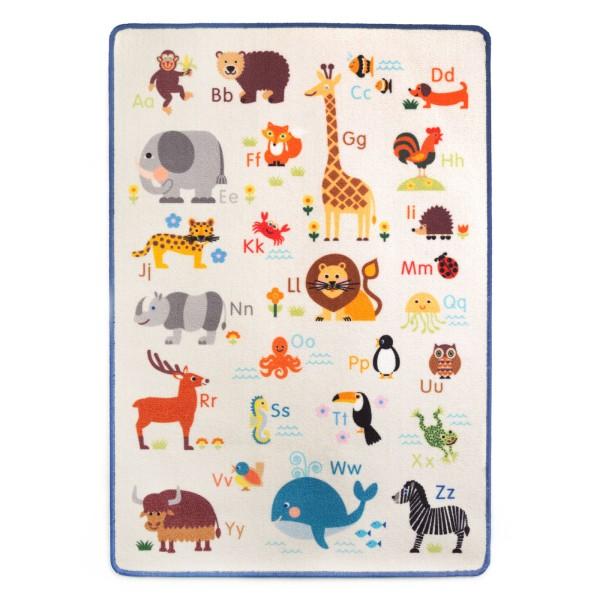 Spielteppich / Tier ABC