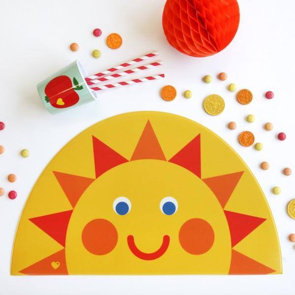 Tischset Sonne