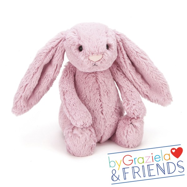 Kuscheltier Bashful Bunny Flieder / Medium 31cm