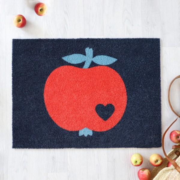 Fußmatte Apfel Rot