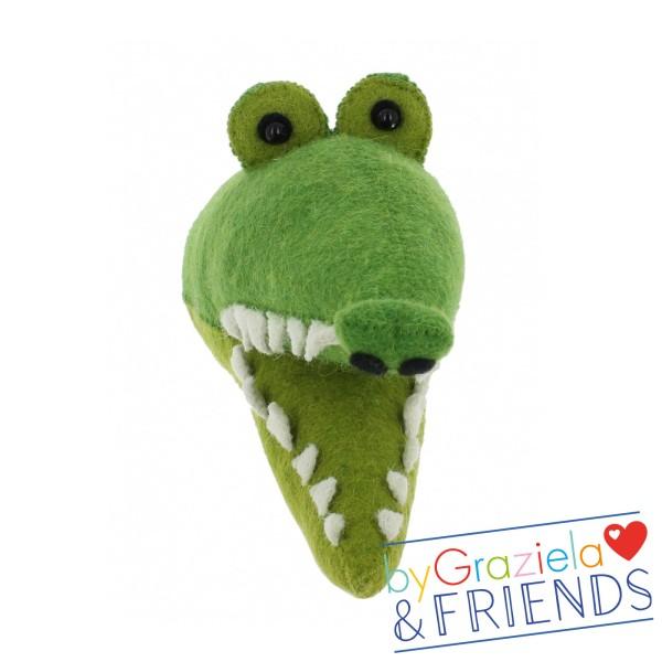 Tierkopf / Krokodil