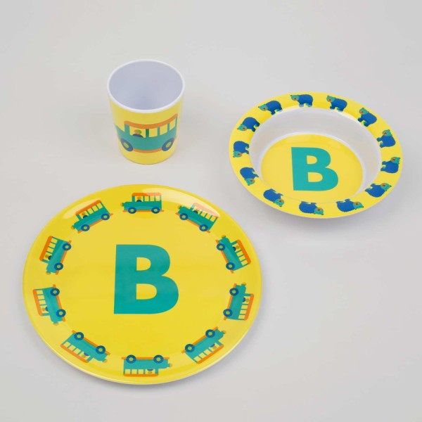 ABC Melamingeschirr-Set B
