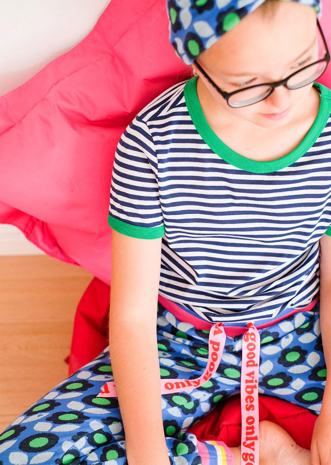 byGraziela_Sommer_Outfits_Jacquard_Basic_Hose_Kinder